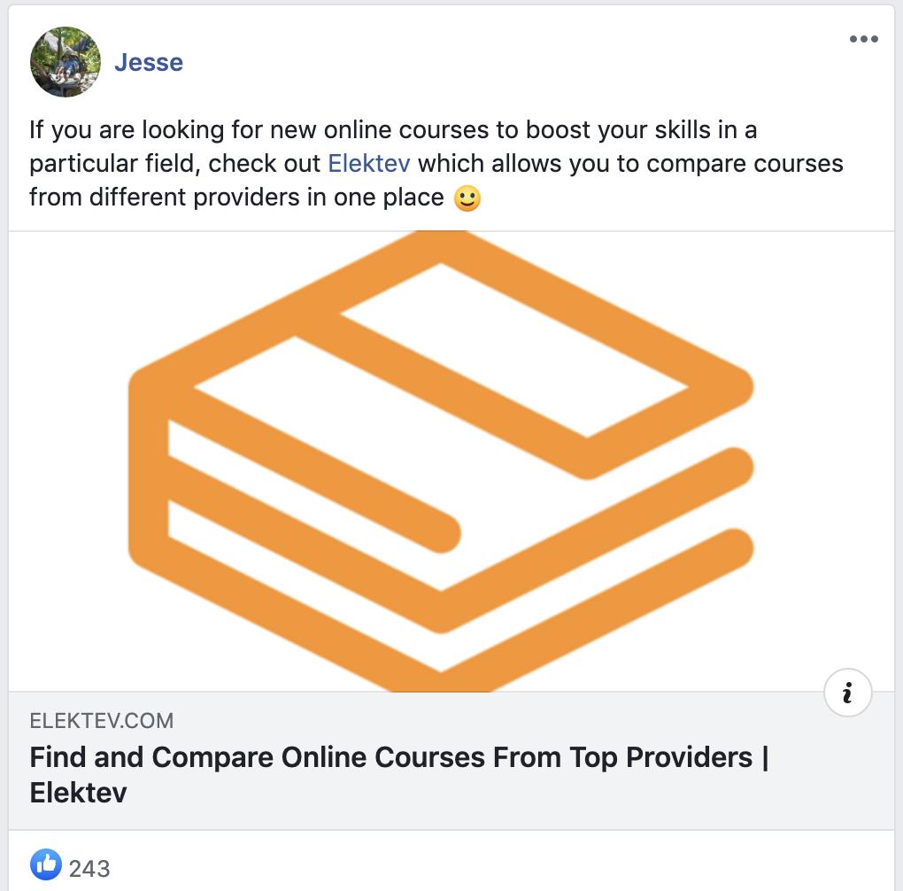 elektev facebook post